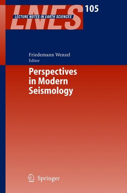 Abbildung von Wenzel | Perspectives in Modern Seismology | 2005