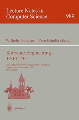 Abbildung von Schäfer / Botella | Software Engineering - ESEC '95 | 1995