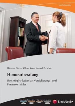Abbildung von Goerz / Korn / Perschke | Honorarberatung | 2009
