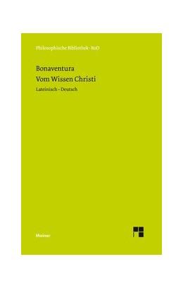 Abbildung von Bonaventura / Speer | Vom Wissen Christi | 2013 | Quaestiones diputatae de scien... | 446