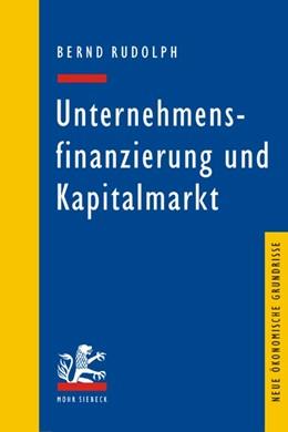 Abbildung von Rudolph | Unternehmensfinanzierung und Kapitalmarkt | 1., Aufl. | 2006