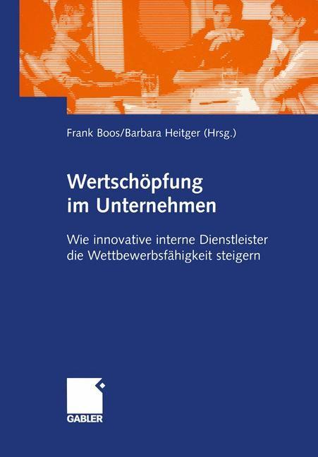 Abbildung von Boos / Heitger | Wertschöpfung im Unternehmen | 2005