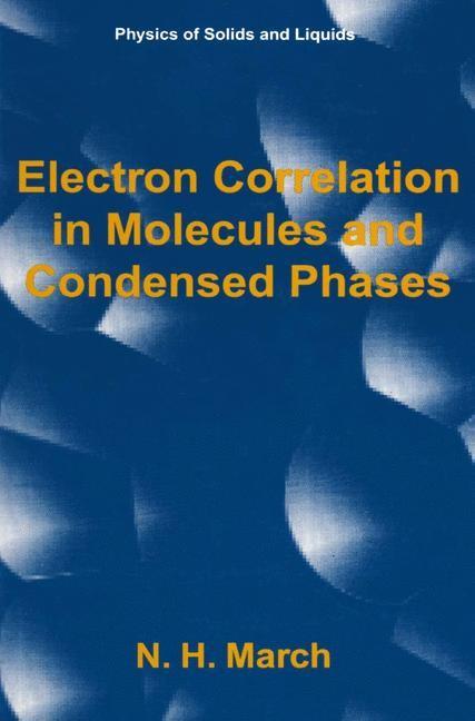 Abbildung von March | Electron Correlation in Molecules and Condensed Phases | 1996