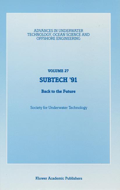 Abbildung von Society for Underwater Technology (SUT)   SUBTECH '91   1991