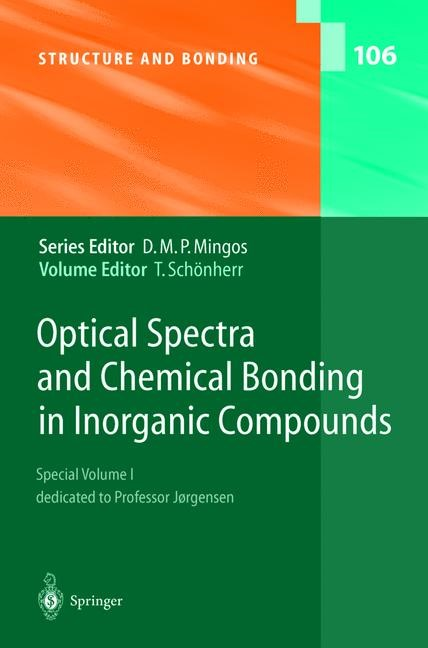 Abbildung von Schönherr | Optical Spectra and Chemical Bonding in Inorganic Compounds | 2004