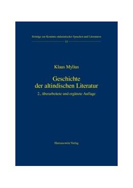 Abbildung von Mylius | Geschichte der altindischen Literatur | 2., überarb. u. erg. Aufl. | 2003