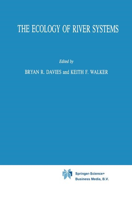 Abbildung von Davies / Walker | The Ecology of River Systems | 1986