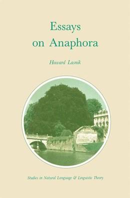 Abbildung von Lasnik | Essays on Anaphora | 1989 | 16