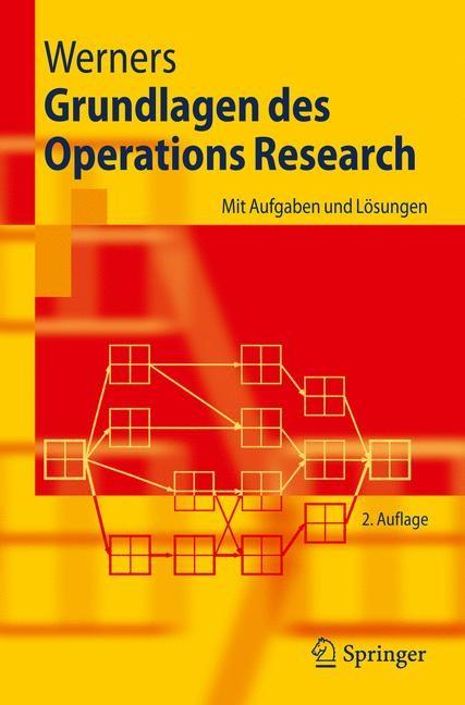 Abbildung von Werners | Grundlagen des Operations Research | 2008