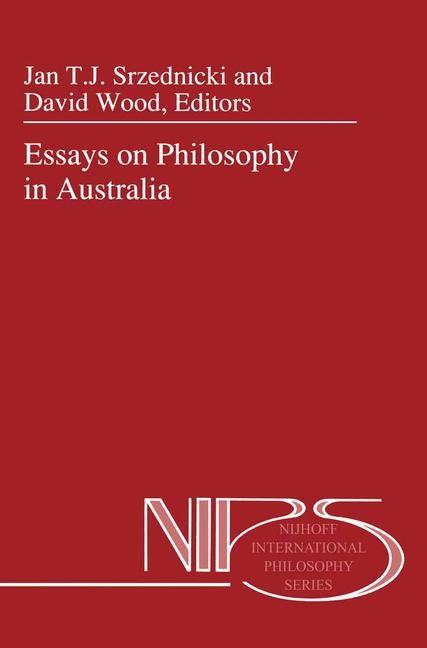Abbildung von Srzednicki / Wood | Essays on Philosophy in Australia | 1992