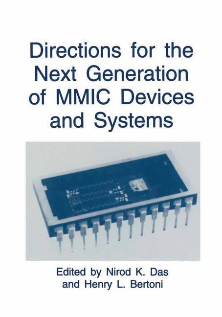 Abbildung von Das / Bertoni | Directions for the Next Generation of MMIC Devices and Systems | 1997