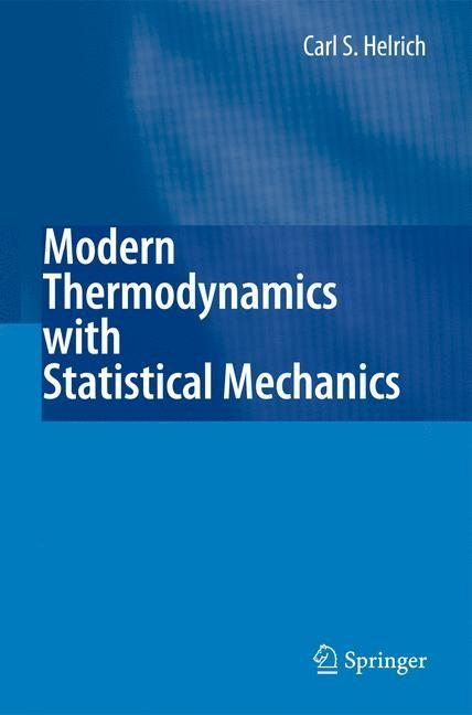 Abbildung von Helrich | Modern Thermodynamics with Statistical Mechanics | 2008