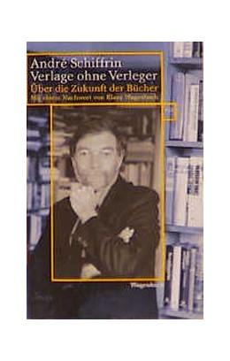 Abbildung von Schiffrin   Verlage ohne Verleger   2000