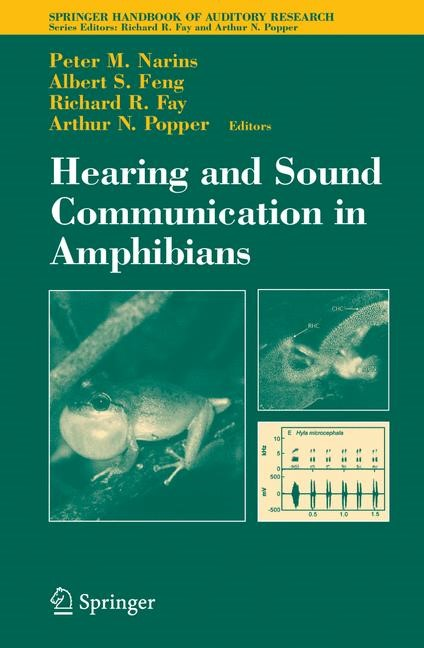 Abbildung von Narins / Feng / Fay | Hearing and Sound Communication in Amphibians | 2006