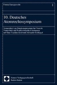 10. Deutsches Atomrechtssymposium, 2000   Buch (Cover)
