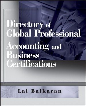 Abbildung von Balkaran | Directory of Global Professional Accounting and Business Certifications | 2007