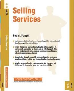Abbildung von Forsyth | Selling Services | 2003