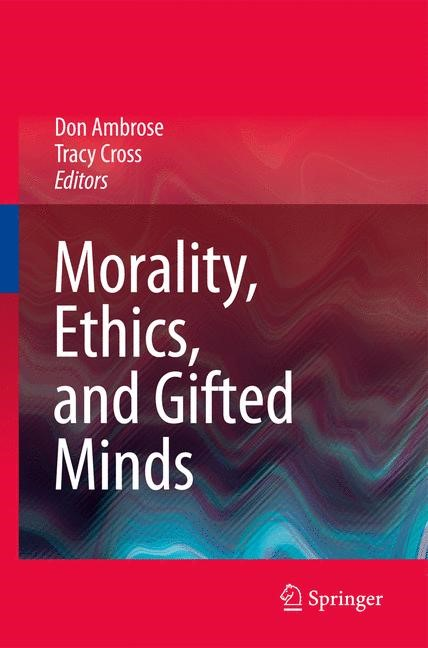 Abbildung von Ambrose / Cross | Morality, Ethics, and Gifted Minds | 2009