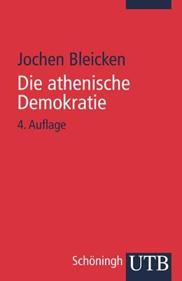 Abbildung von Bleicken | Die athenische Demokratie | völlig neubearb. u. wesentl. erw. Aufl. | 1995