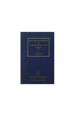 Abbildung von Frowein / Wolfrum / Philipp | Max Planck Yearbook of United Nations Law, Volume 1 (1997) | 1998 | 1
