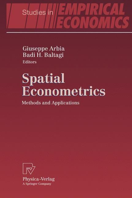 Abbildung von Arbia / Baltagi   Spatial Econometrics   2008