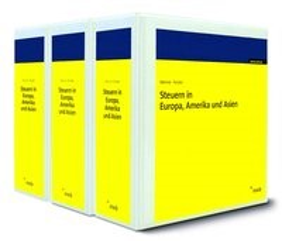Abbildung von Mennel / Förster   Steuern in Europa, Amerika und Asien - mit Aktualisierungsservice   Loseblattwerk mit 117. Aktualisierung   2018