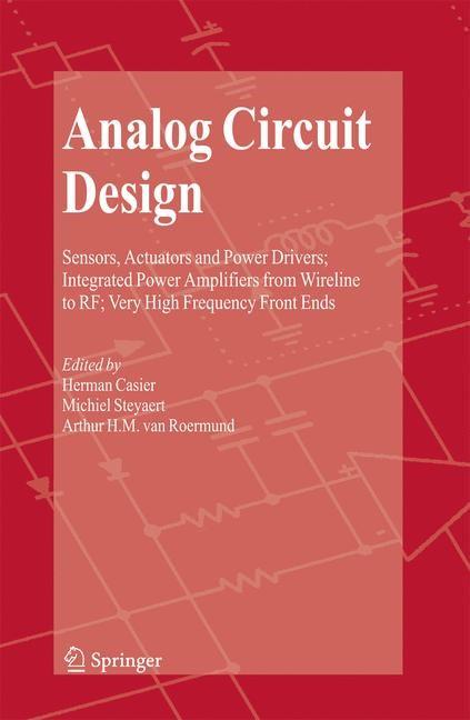 Abbildung von Casier / Steyaert / van Roermund | Analog Circuit Design | 2008