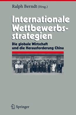 Abbildung von Berndt   Internationale Wettbewerbsstrategien   2007   Die globale Wirtschaft und die...   14