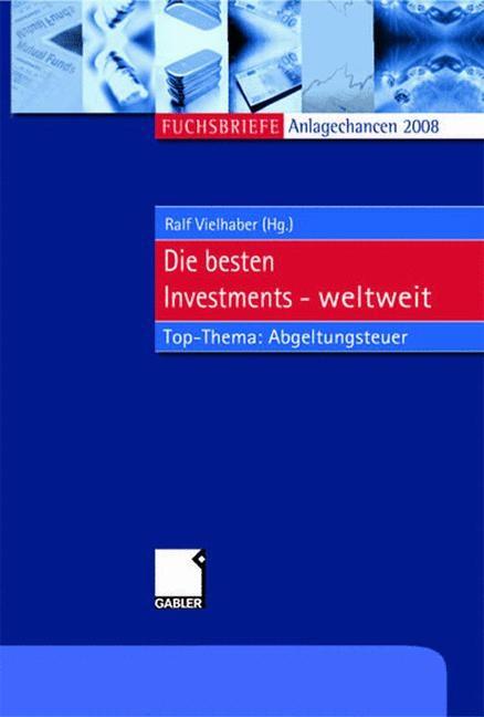 Abbildung von Vielhaber   Anlagechancen 2008   2008   2007