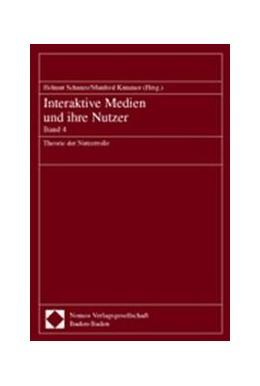 Abbildung von Schanze / Kammer | Interaktive Medien und ihre Nutzer | 2002 | Band 4