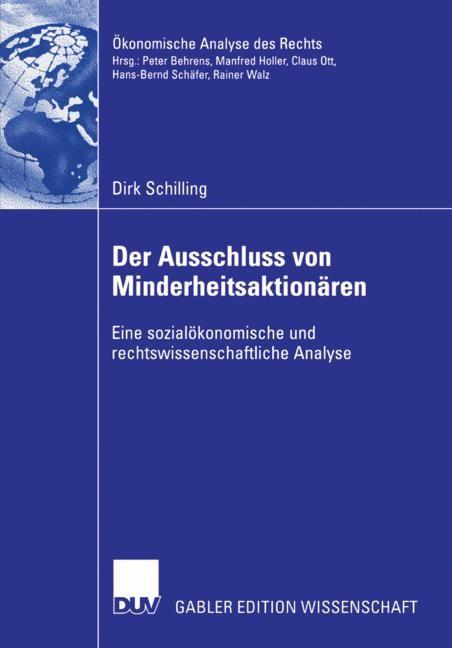 Abbildung von Schilling | Der Ausschluss von Minderheitsaktionären | 2006