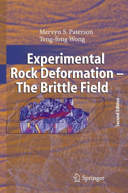 Abbildung von Paterson / Wong | Experimental Rock Deformation - The Brittle Field | 2nd completely rev. and updated ed. | 2005