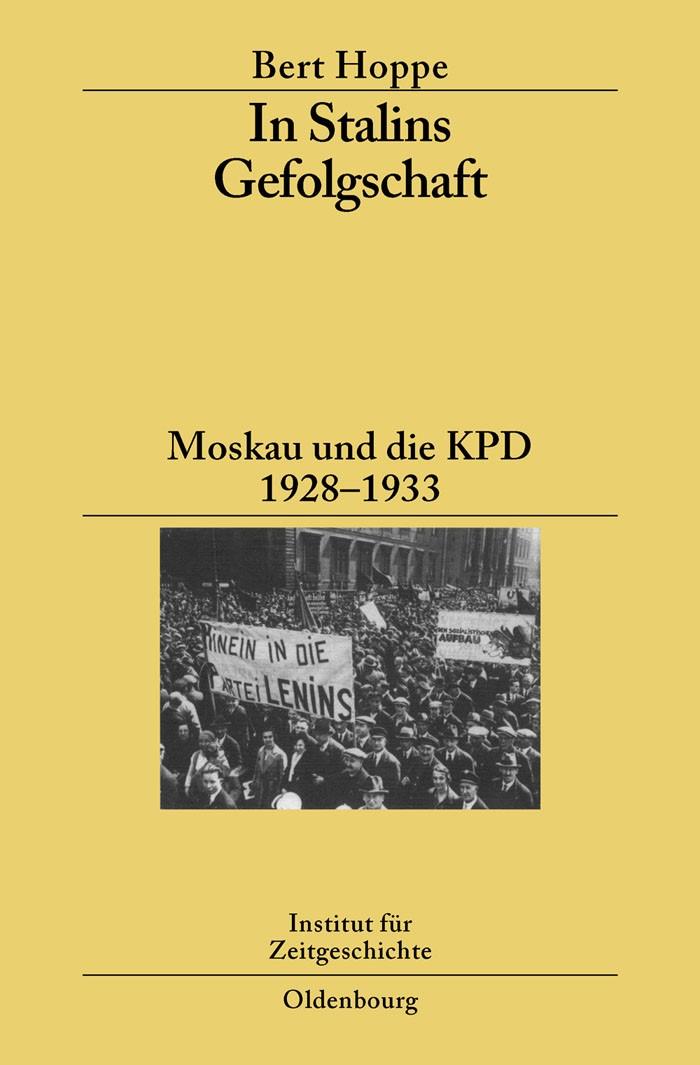 Abbildung von Hoppe   In Stalins Gefolgschaft   2007