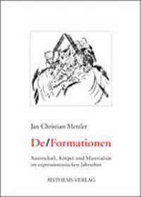Abbildung von Metzler | De/Formation | 2003