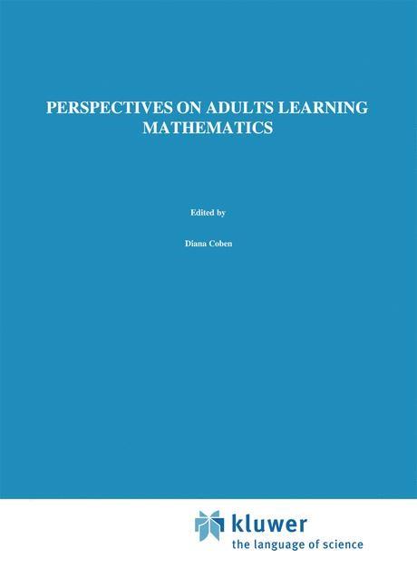 Abbildung von Coben / O'Donoghue / FitzSimons | Perspectives on Adults Learning Mathematics | 2000