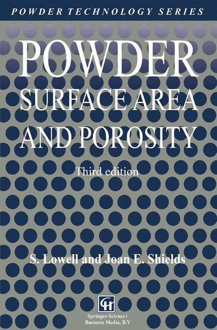 Abbildung von Lowell / Shields   Powder Surface Area and Porosity   3rd ed.   1991