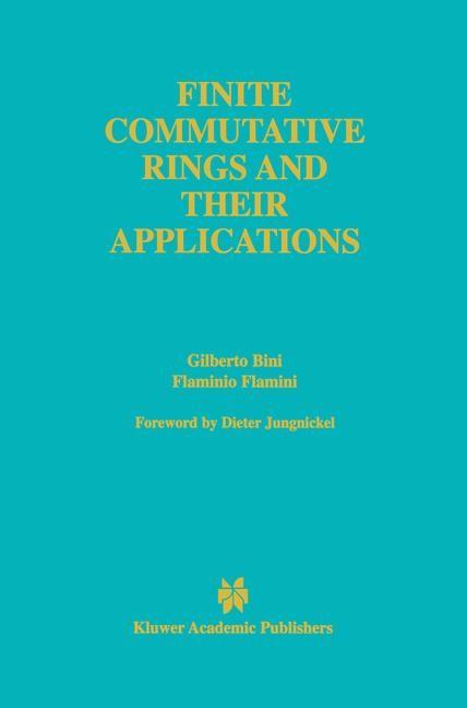 Abbildung von Bini / Flamini | Finite Commutative Rings and Their Applications | 2002