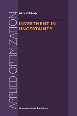 Abbildung von Gil-Aluja   Investment in Uncertainty   1998   21