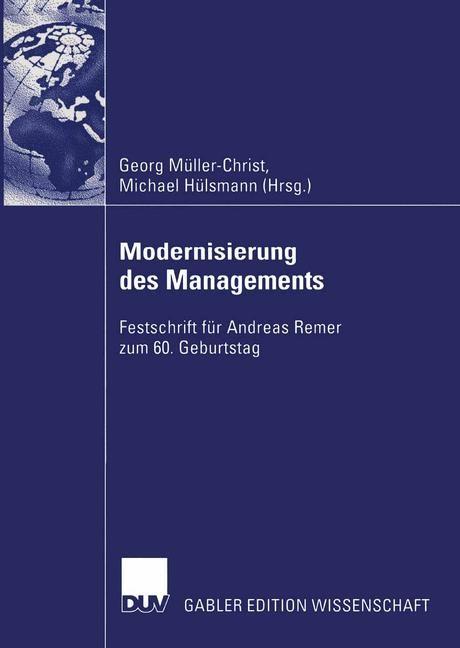 Modernisierung des Managements | Müller-Christ / Hülsmann, 2004 | Buch (Cover)