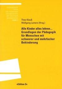 Abbildung von Klauß / Lamers | Alle Kinder alles lehren ... | 2003