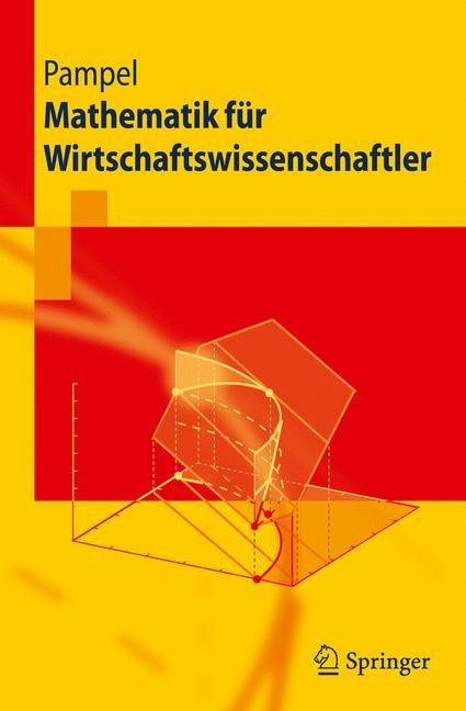 Abbildung von Pampel | Mathematik für Wirtschaftswissenschaftler | 2009