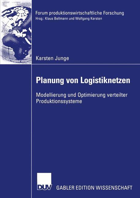 Planung von Logistiknetzen | Junge, 2003 | Buch (Cover)