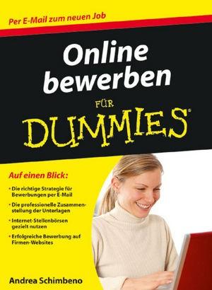 Abbildung von Schimbeno | Online bewerben für Dummies | 2009