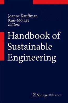 Abbildung von Kauffman / LEE | Handbook of Sustainable Engineering | 2013