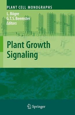 Abbildung von Bögre / Beemster | Plant Growth Signaling | 2008 | 10