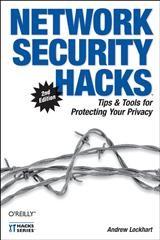 Abbildung von Andrew Lockhart   Network Security Hacks   Neuausgabe   2006