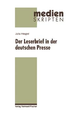Abbildung von Heupel | Der Leserbrief in der deutschen Presse | 2009 | 50