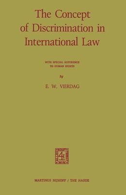 Abbildung von The Concept of Discrimination in International Law | 1973 | With Special Reference to Huma...