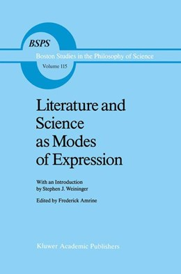 Abbildung von Amrine | Literature and Science as Modes of Expression | 1989 | 115