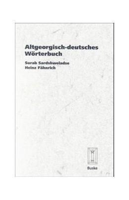 Abbildung von Sardshweladse / Fähnrich | Altgeorgisch-deutsches Wörterbuch | 1999 | 5